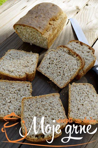 Ražani hleb sa heljdom i mekinjama
