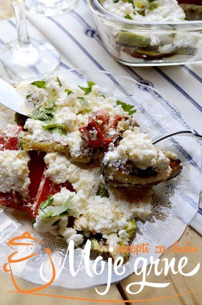 Salata od grilovanog povrća