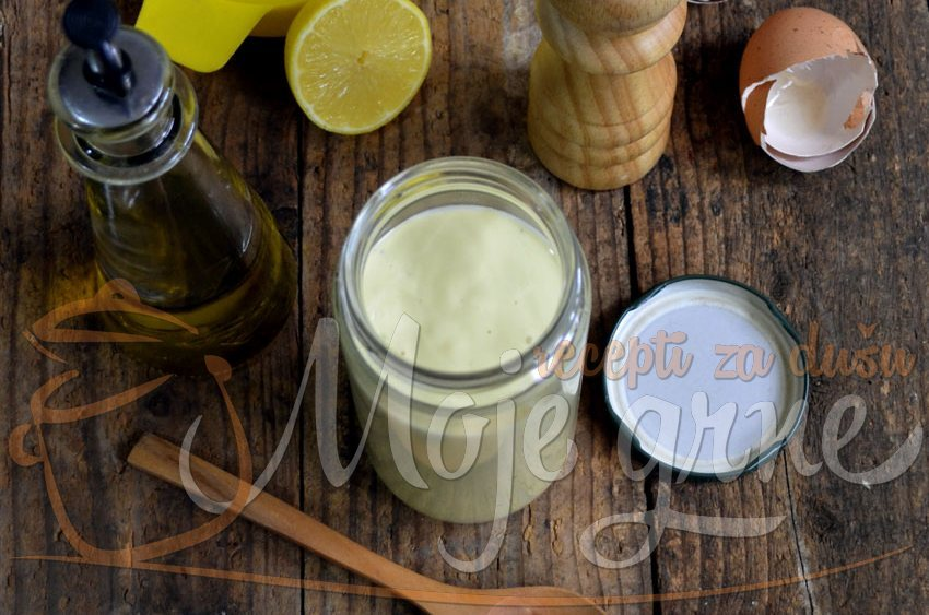 Domaći majonez sa maslinovim uljem
