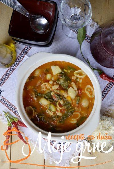 Zimska minestrona