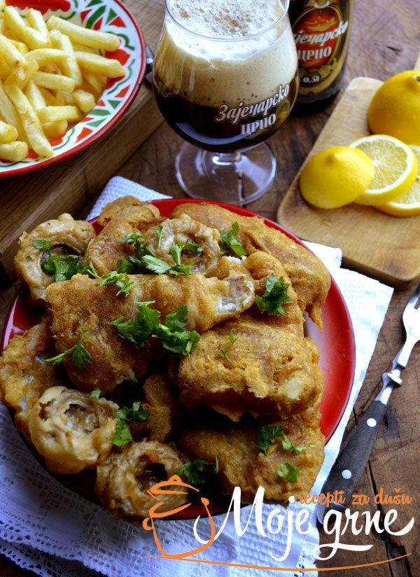 Pohovani fileti ribe u pivskom testu