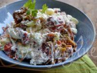 Salata od pečene paprike