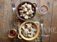 Gnječena krompir salata