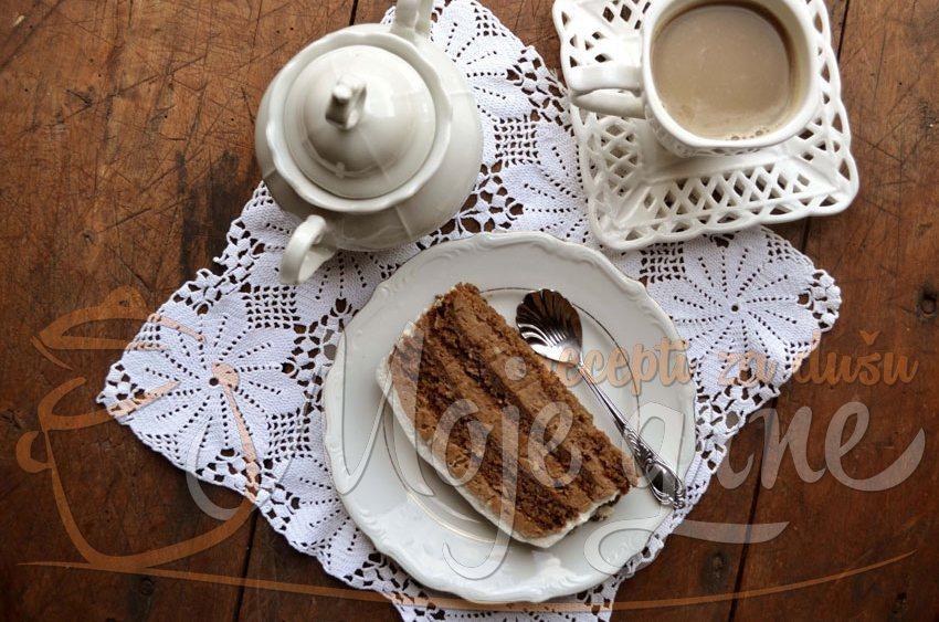 Posna torta sa kafom