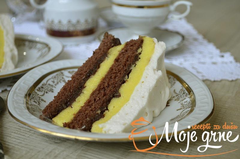 Posna Jaffa torta