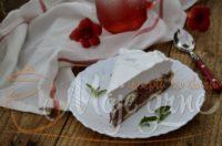 Nepečena čoko – malina torta