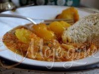 Punjeni žuti paradajz