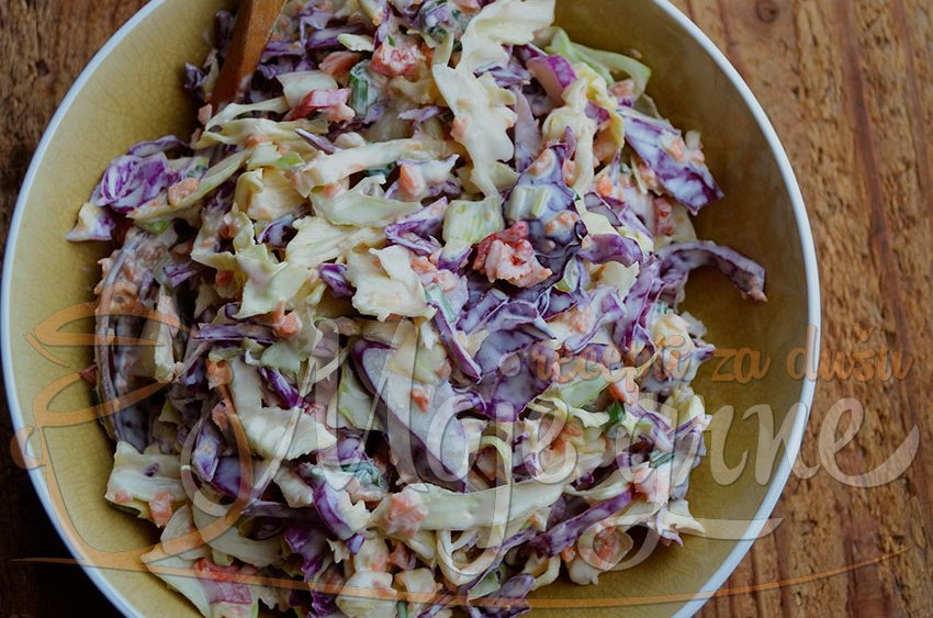 Kolslo (Coleslaw) američka salata od kupusa