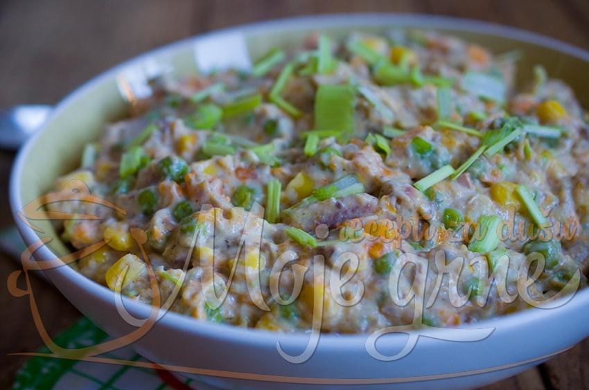 Posna krem salata