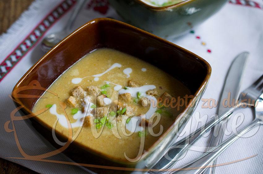 Pileća krem supa