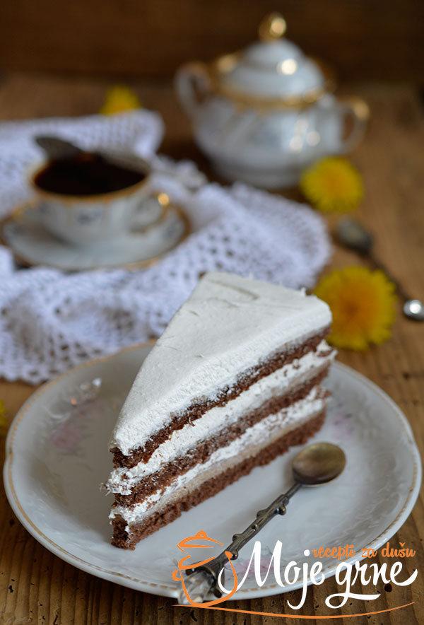 Torta sa plazmom i gotovim korama