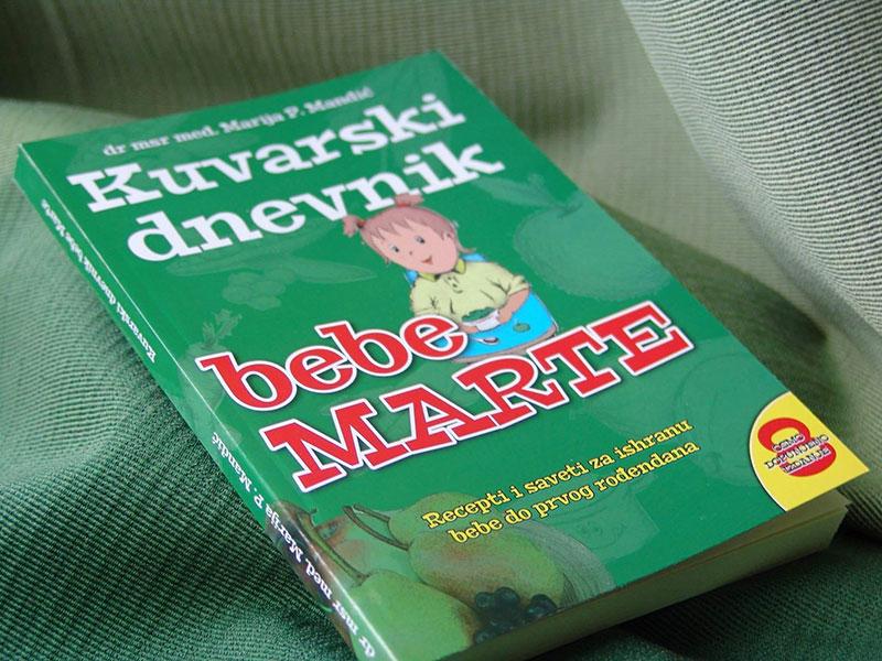 Kuvarski dnevnik bebe Marte
