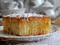 Grčki kolač sa kokosom, grizom i grčkim jogurtom