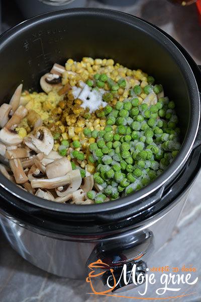 Pileća krem čorba sa povrćem