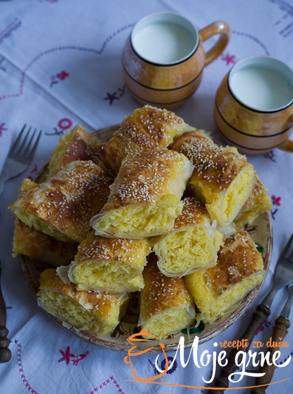 Pita sa kukuruznim brašnom i sirom