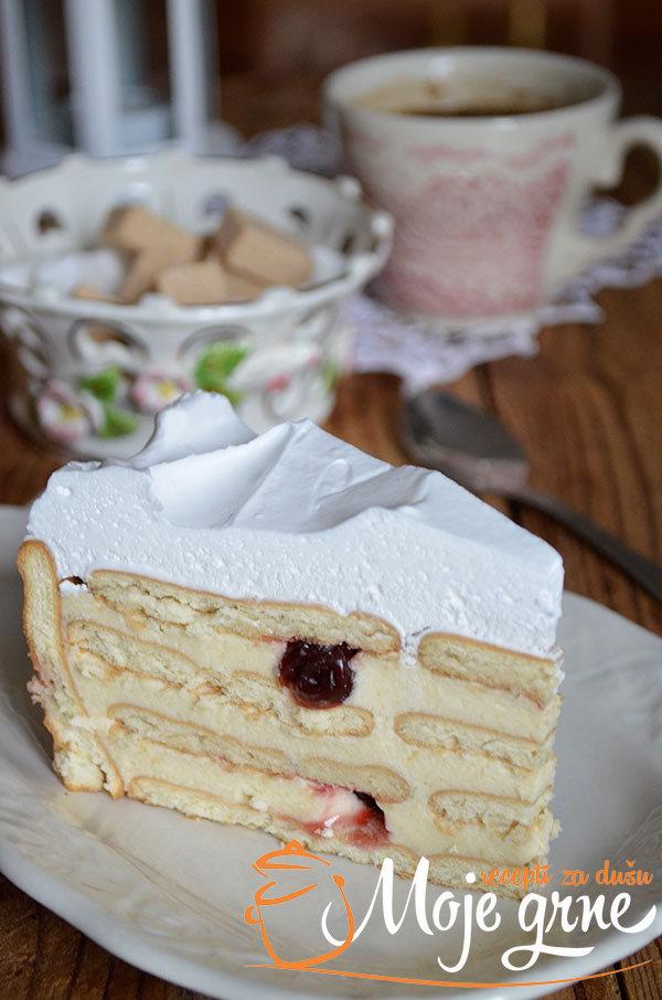 Griz torta sa keksom