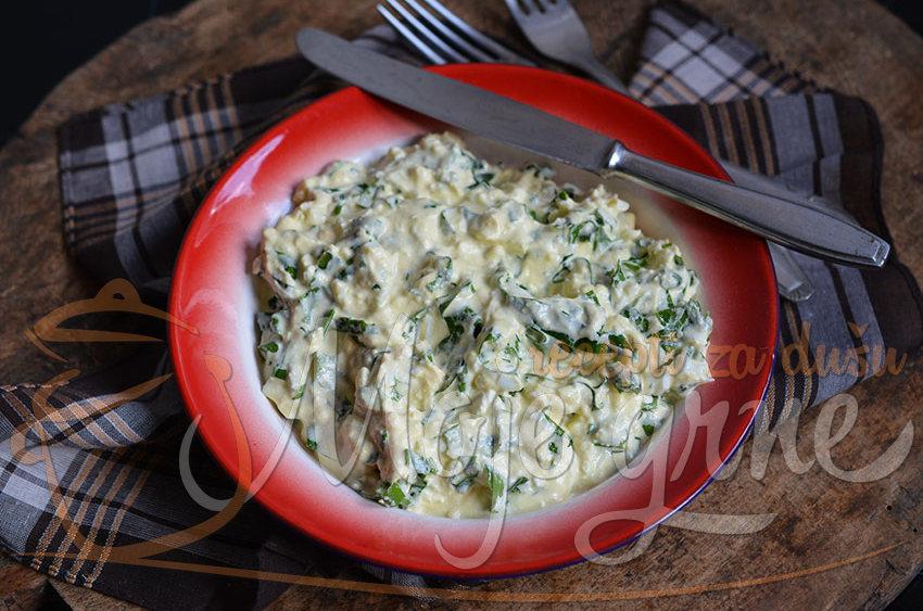 Krem salata od sremuša