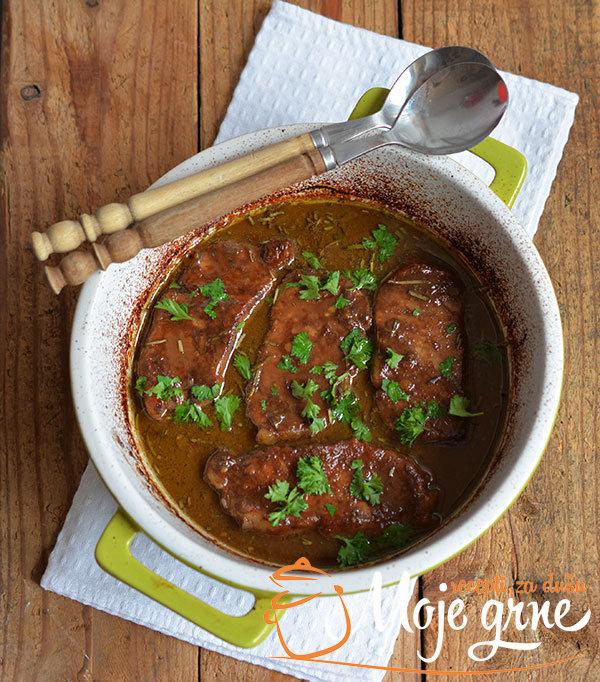 Svinjski kare u balzamiko sosu