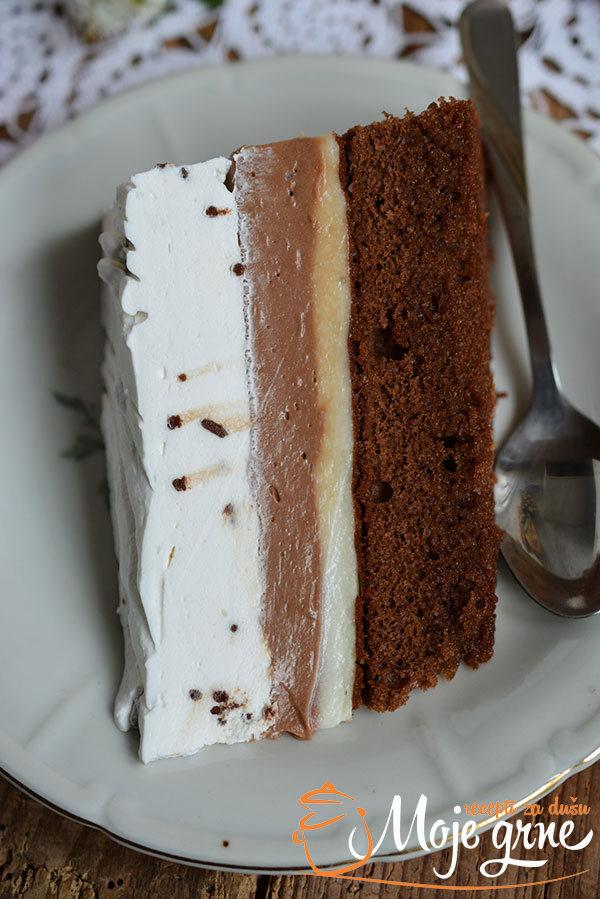 Čokoladni krem kolač