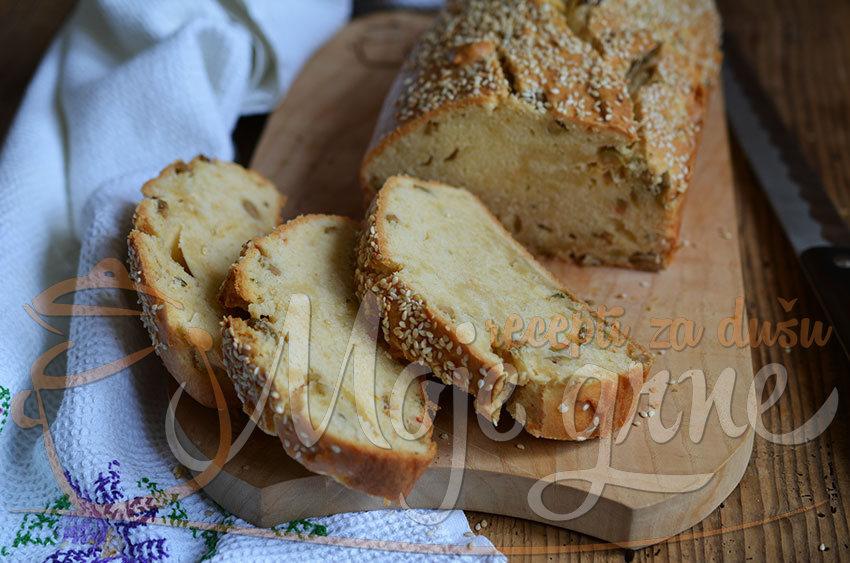 Jogurt hleb sa maslinama