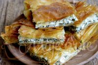 """Grčka """"Spanakopita"""" – pita od spanaća i sira"""