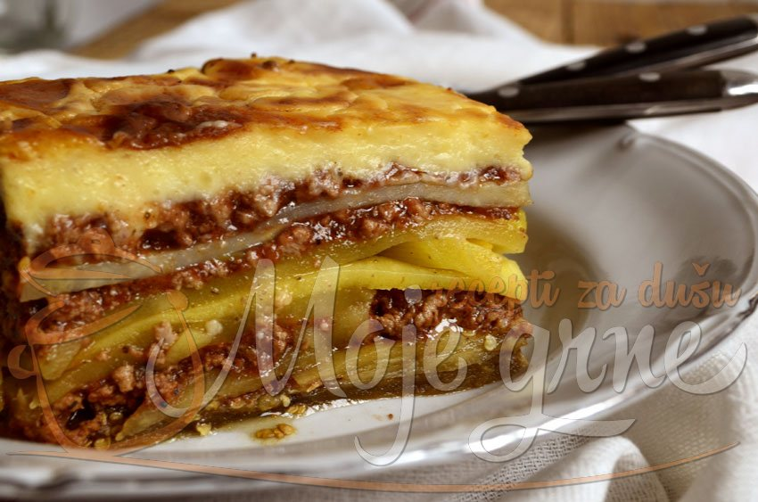 Grčka musaka (Greek Moussaka)