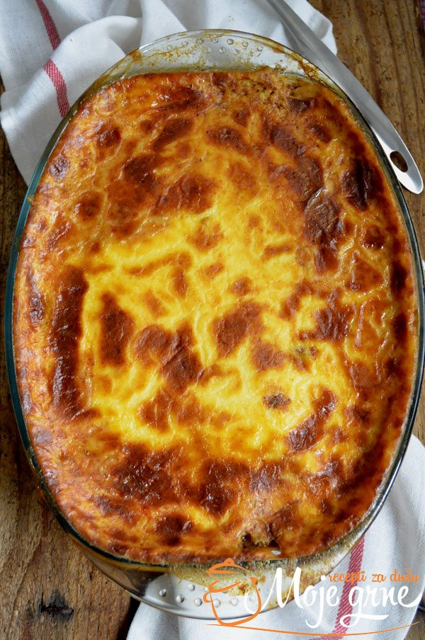 Grčka musaka (Greek Moussaka)