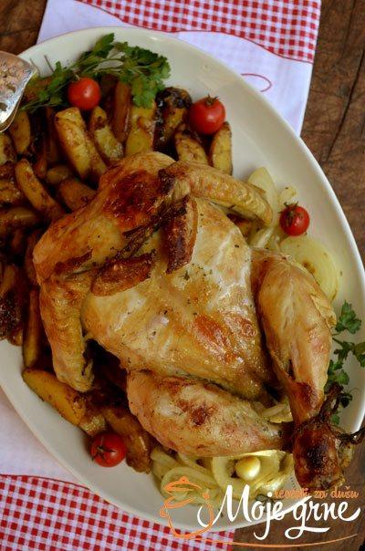 Pečeno pile i krompir iz Multi Cookera