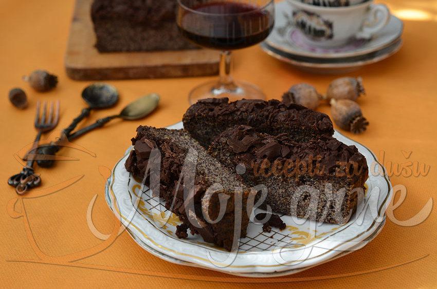 Mak kolač sa čokoladom