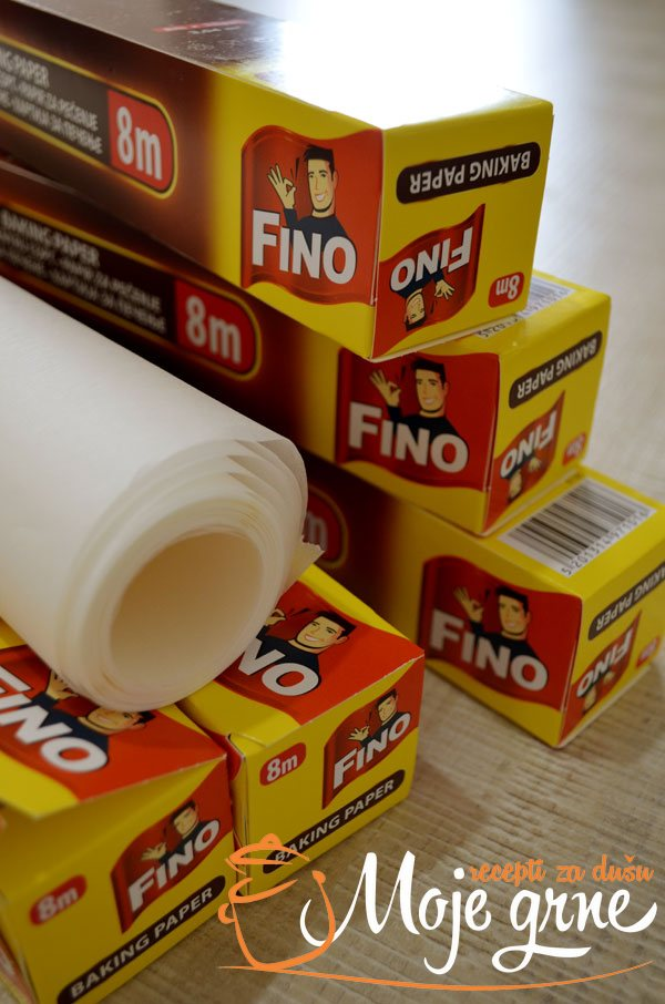 FINO papir za pečenje