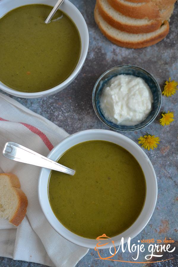 Krem supa od spanaća