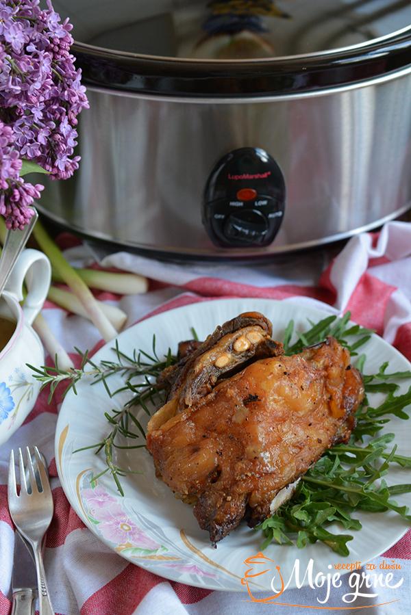 Sporo pečena jagnjetina