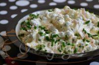Krem salata sa mladim graškom