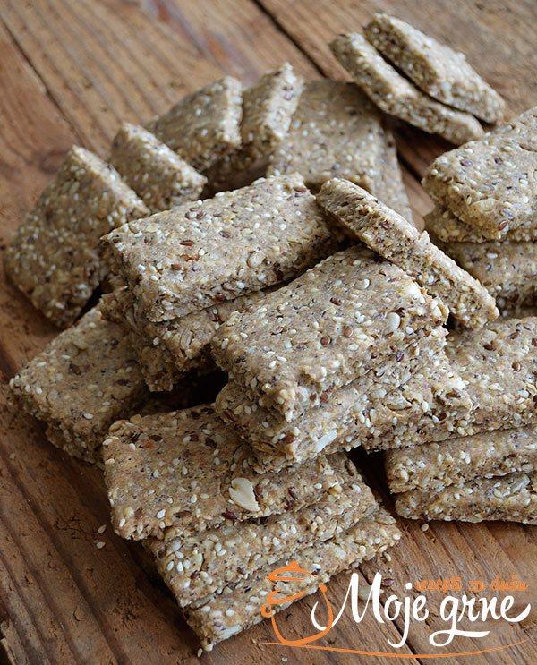 Žakijev slani keks sa semenkama