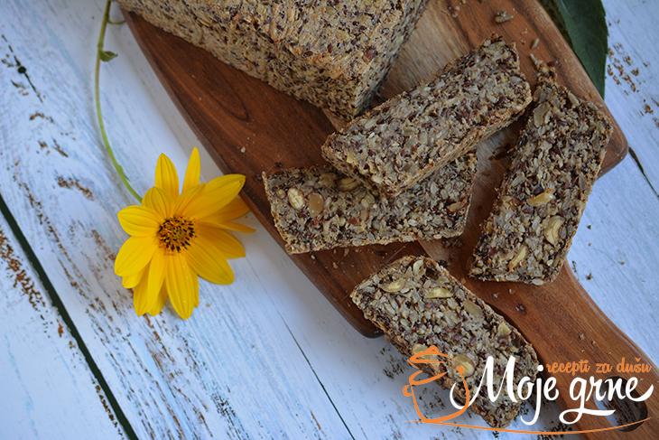 Zdravi hleb sa semenkama