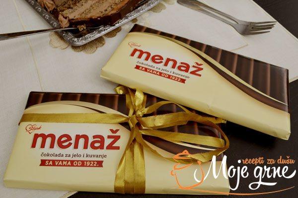 Menaž čokolada za jelo i kuvanje