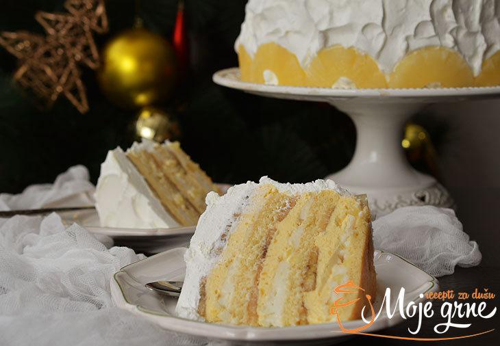 Alžirska torta