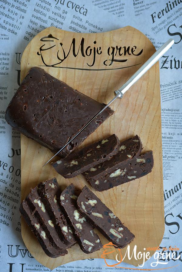 Ikine čokoladne štanglice