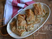 Pita savijača sa heljdinim korama i tikvicama