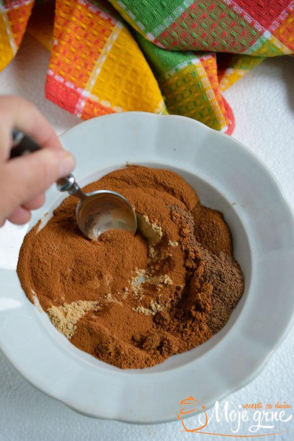 Mešavina začina za pitu od bundeve (Homemade Pumpkin Pie Spice)