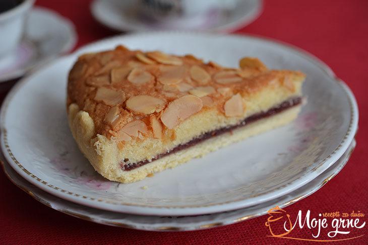 Pita Bejkvel (Bakewell tart)