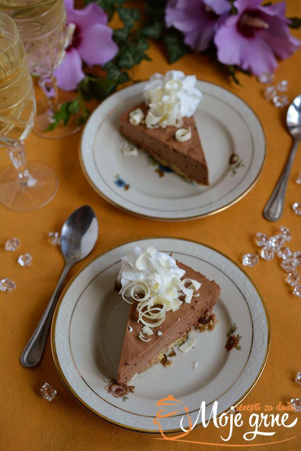 Maskarpone čoko torta