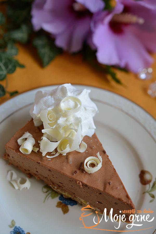 Japanka - maskarpone torta