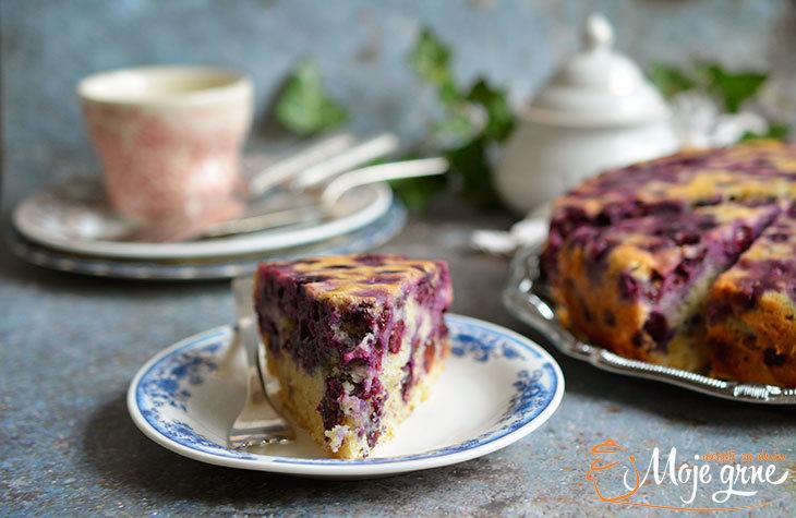 Bertolina - Italijanski kolač od grožđa